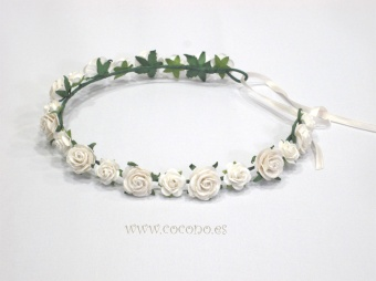 corona florecitas pequeñas