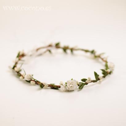 coronas de flores para comunion