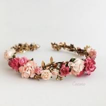 corona de flores comunion 3