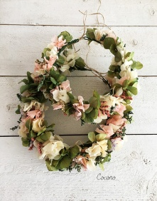Coronas de flores online