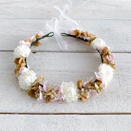 corona de flores - (2)
